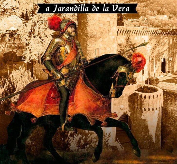 Llegada de Carlos V a Jarandilla de la Vera
