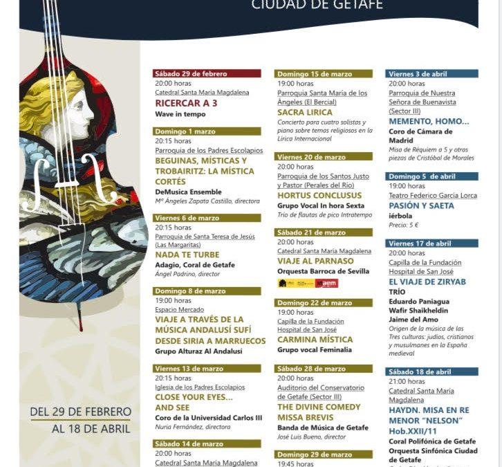 Música antigua y sacra Ciudad de Getafe